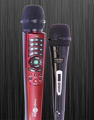 Kortek Magic Mike YK-17 Dual Wire Karaoke Microphone With 7650+ Songs-0