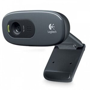 Logitech C270 HD Webcam (Black)-0