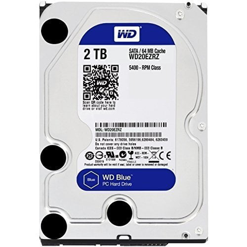 Western Digital WD 2TB Internal Hard Drive (Blue) for Desktop-0