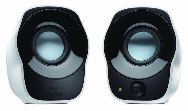 Logitech Z120 Stereo Speaker (Black and White)-0