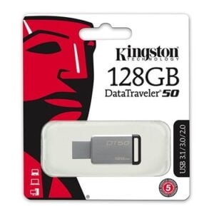 Kingston DataTraveler 50 128GB USB 3.0 Flash Drive-0