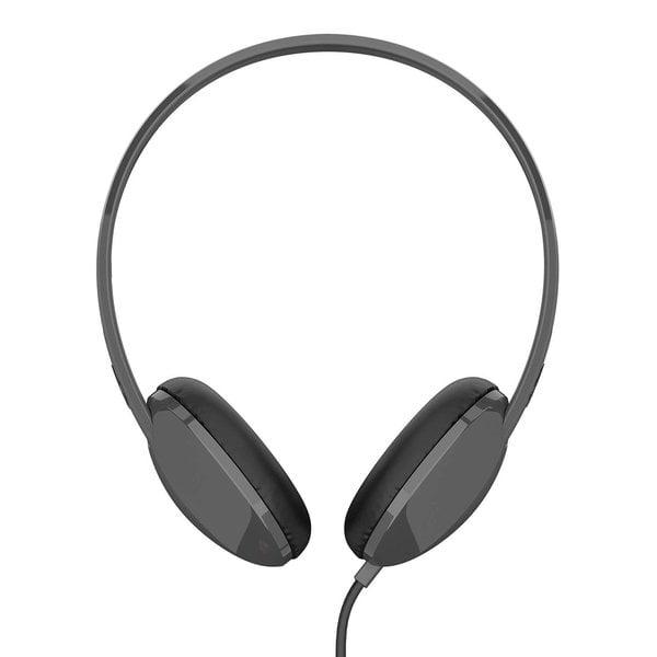 Skullcandy S2LHY-K576 STIM On Ear Headset with Mic (Black/Charcoal)-0