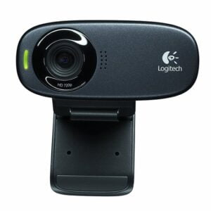 Logitech C310 HD Webcam (Black)-0