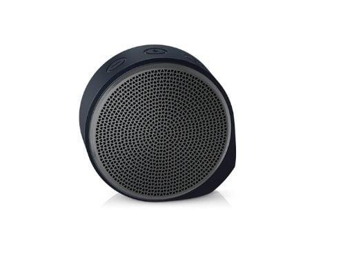 Logitech X100 Wireless Bluetooth Speakers (Black/Grey)-0