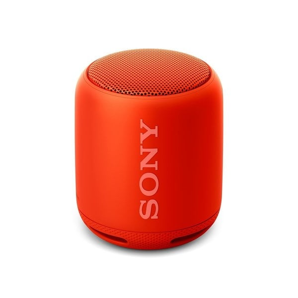 Sony SRS-XB10 EXTRA BASS Portable Splash-proof Wireless Speaker with Bluetooth and NFC (Red)-0