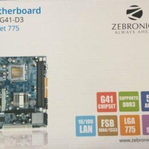 Zebronics Motherboard ZEB-G41 DDR3 Socket 775.-0