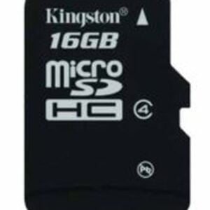 Kingston 16GB Class 4 Micro SDHC Memory Card-0