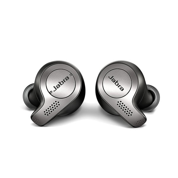 Jabra Elite 65t True Wireless Bluetooth Earbuds with Charging Case and one Touch Amazon Alexa (Titanium Black)(Seal Open Only)-5030