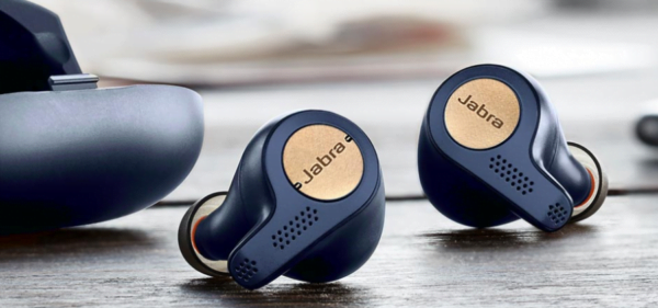 Jabra Elite Active 65t True Wireless Sports Earbuds (Alexa Enabled) with Charging Case – (Copper Blue)(Seal Open Only)-0