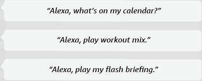 Alexa, where's my stuff