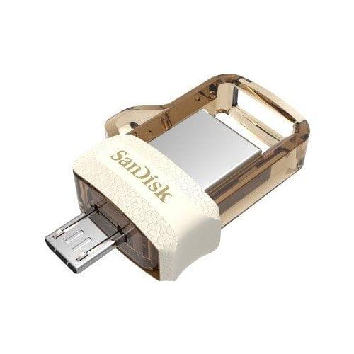 SanDisk Ultra Dual 64GB USB 3.0 OTG Pen Drive (Gold)-0