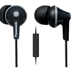 Panasonic RP-TCM125 Ergo Fit Stereo Headset (Black-0