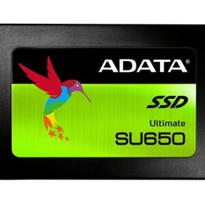 "ADATA SU650 120GB 3D-NAND 2.5"" SATA III High Speed Read up to 520MB/s Internal Solid State Drive (ASU650SS-120GT-C)-0"