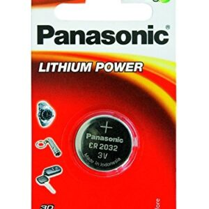 Panasonic CR2032 3V Coin Shape Lithium Battery-0