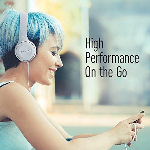 Panasonic Over-The-Ear Stereo Headphones RP-HF100-K (Black)-5221