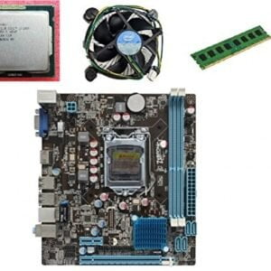 KharidiyeBasic Zebronics Motherboard Combo H61 Chipset Motherboard with Intel Core I5-2nd Gen Processor with 6 GB DDR3 RAM Intel Fan-0
