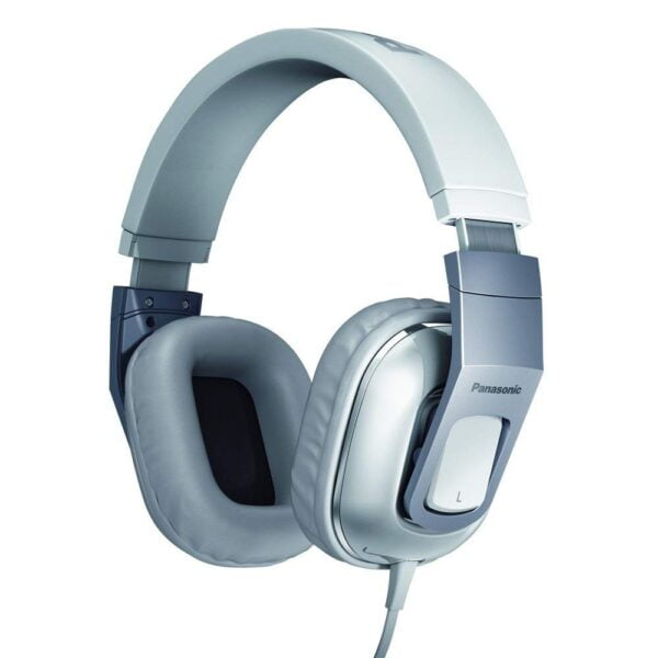 Panasonic RP-HT480CPPW Stereo Headphones Headset With Remote Mic - White-0