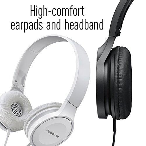 Panasonic Over-The-Ear Stereo Headphones RP-HF100-K (Black)-5220