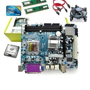 KharidiyeBasic Zebronics Board H55 Chipset Motherboard with 2 Years Warranty,Intel Core I3-530 Processor with 8 GB DDR3 RAM CPU Fan-0