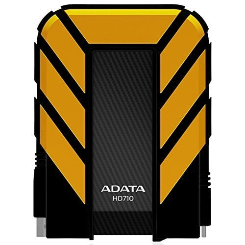 ADATA HD710 2TB External Hard Drive (Yellow)-0