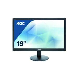 AOC 18.5Inch LED E970SWNL Monitor, black-0