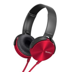 Sony MDR-XB450 On-Ear EXTRA BASS Headphones (Red)-0