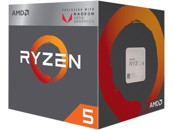AMD Ryzen 5 2400G Processor with Radeon RX Vega 11 Graphics-0