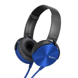 Sony MDR-XB450 On-Ear EXTRA BASS Headphones (Blue)-0