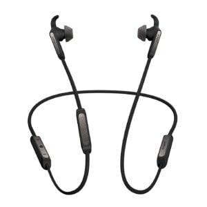 Jabra Elite 45e Wireless Bluetooth in-Ear Headphones (Titanium Black)(Seal Open Only)-0