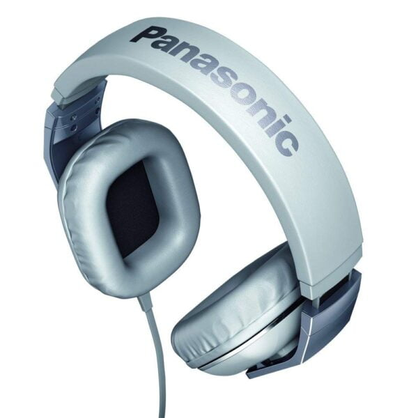 Panasonic RP-HT480CPPW Stereo Headphones Headset With Remote Mic - White-5193