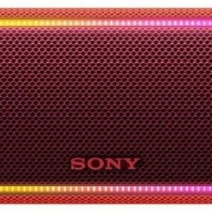 Sony SRS-XB31 Extra Bass Portable Waterproof Wireless Speaker with Bluetooth and NFC (Red)-0