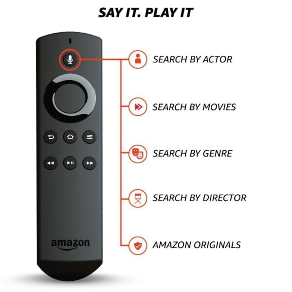 Amazon Fire TV Stick with Voice Remote | Streaming Media Player-5359