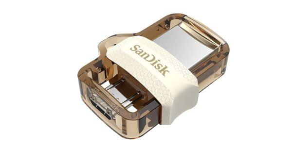 SanDisk Ultra Dual 64GB USB 3.0 OTG Pen Drive (Gold)-5170