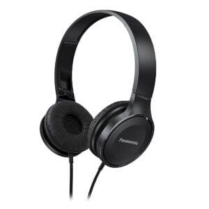 Panasonic Over-The-Ear Stereo Headphones RP-HF100-K (Black)-0