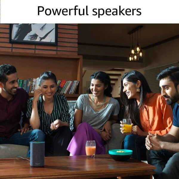 Amazon Echo - Voice control your music, Make calls, Get news, weather & more, Powered by Dolby – Black-5432