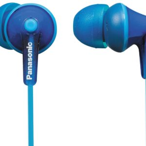 Panasonic RP-HJE125E-A In-Ear Canal insidephone for Ipod/MP3 player(Blue)-0