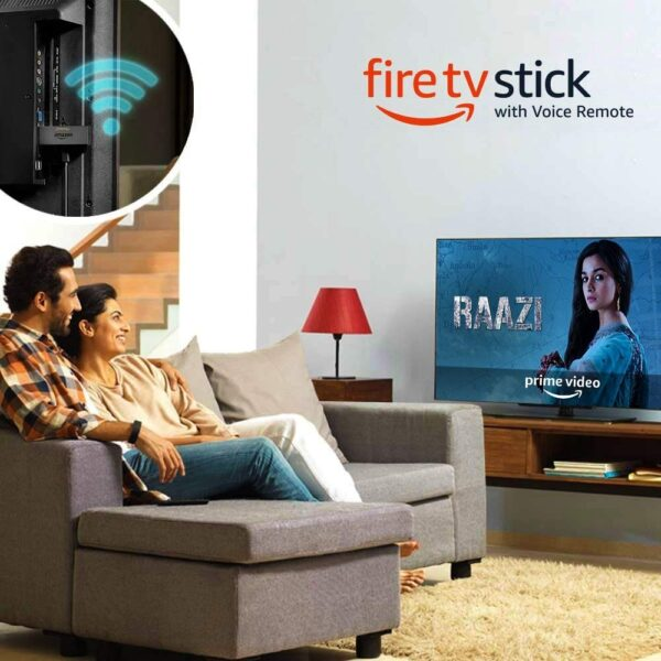 Amazon Fire TV Stick with Voice Remote | Streaming Media Player-5357