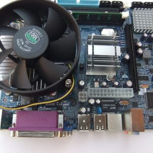 KharidiyeBasic Zebronics Motherboard Kit With 2.4Ghz Intel Core2 Duo CPU, 2GB DDR2 RAM & Intel CPU Fan-0