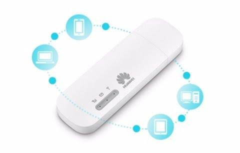 Huawei E8372 Unlocked 4G/LTE Wi-Fi Wingle (White)-5748