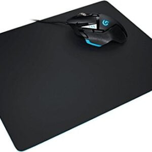 Logitech G240 Cloth Gaming Mouse Pad (Black)-0