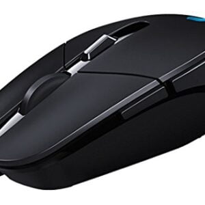 Logitech G302 Gaming Mouse,Black-0