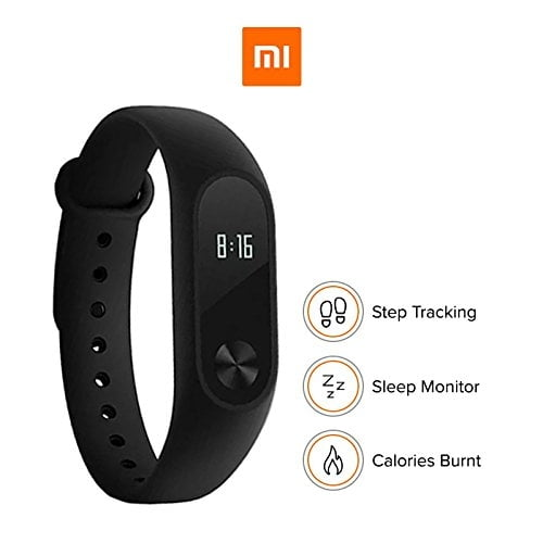 100% Original Mi Band - HRX Edition (Black) With 1 Year Warranty from MI Service Centre(Packing Damage Only)-5713