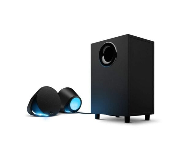 Logitech G560 LIGHTSYNC PC Gaming Speakers with Game Driven RGB Lighting-5620