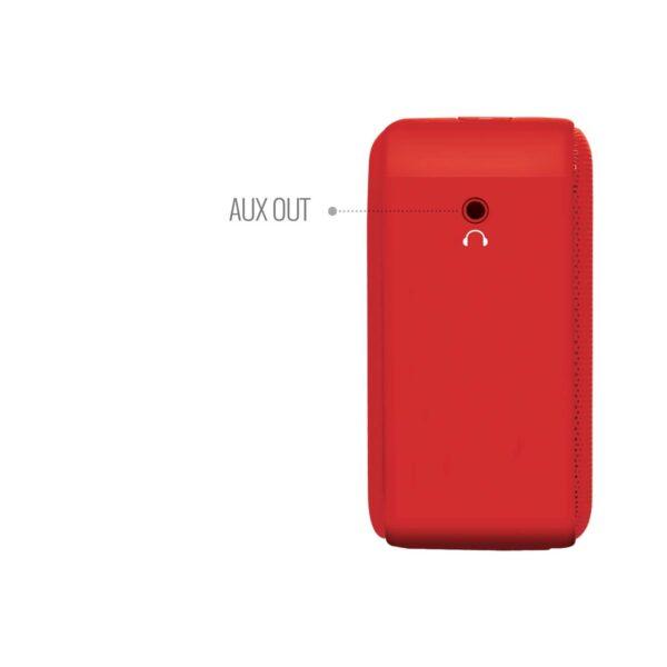 100% Original Saregama Carvaan SCM02 Mini 2.0 Bluetooth Speaker (Sunset Red)-5760