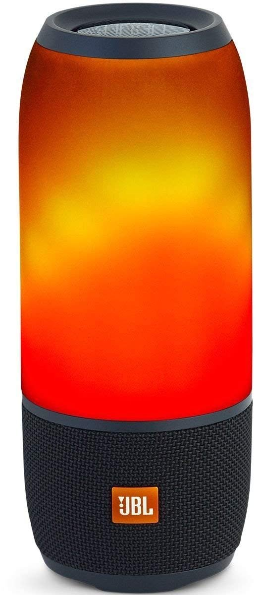 JBL Pulse 3 Wireless Portable Speaker with Vibrant Lightshow (Black)-0