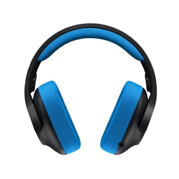 Logitech G233 Gaming Headset with Mic (Black and Blue)-5602