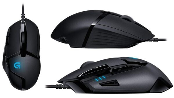 Logitech G402 Hyperion Fury Ultra Fast FPS Gaming Mouse (Black)-5568