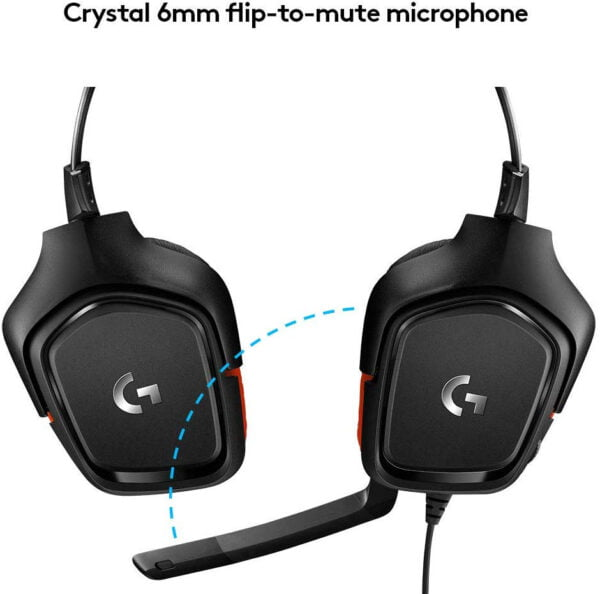 Logitech Prodigy G331 Gaming Headphones with Mic (Black) Upgraded Model of G231-8569
