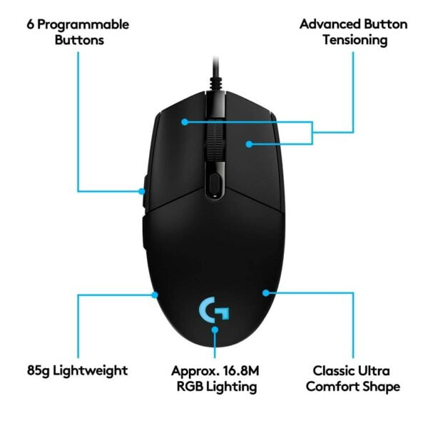 Logitech G102 Optical Gaming Mouse (2nd Generation)-5578