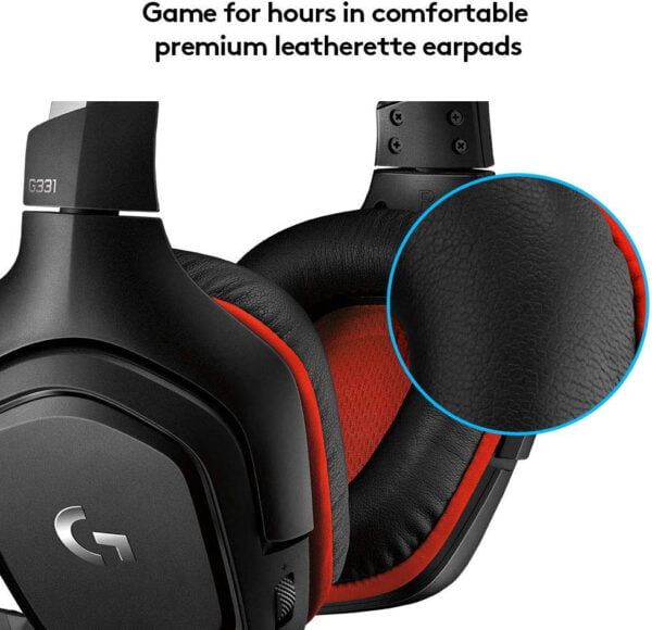 Logitech Prodigy G331 Gaming Headphones with Mic (Black) Upgraded Model of G231-8568